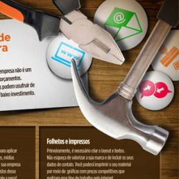 Infográfico Ferramentas de marketing para sua empresa - Sebrae