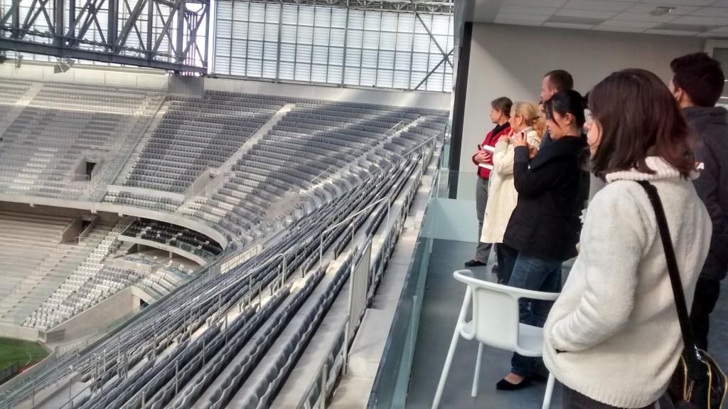 Visita Técnica – Estádio Atlético Paranaense