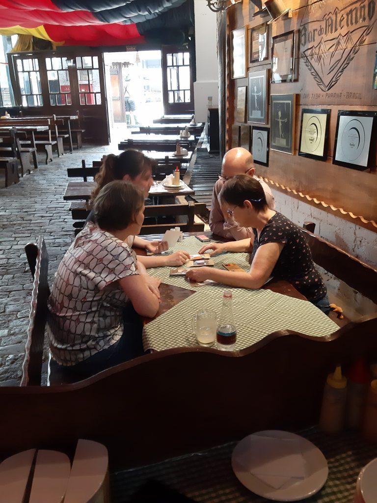 Encontro de Negócios com Bar do alemão